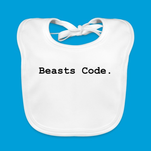 Beasts Code. - Organic Baby Bibs
