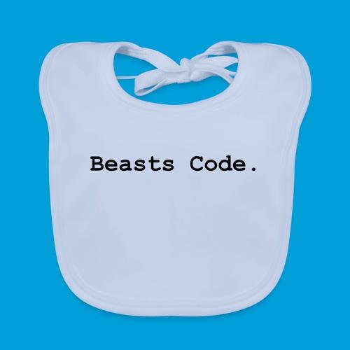 Beasts Code. - Baby Organic Bib