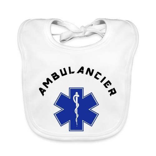 ambulancier logo - Bavoir bio Bébé