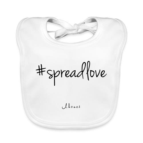 #spreadlove - Organic Baby Bibs