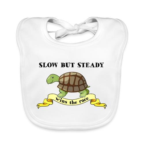 Slow but Steady - Ekologisk babyhaklapp