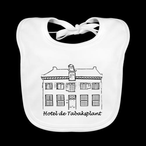 Hotel de Tabaksplant (black) - Baby Organic Bib