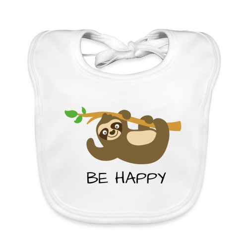 BE HAPPY - Baby Bio-Lätzchen
