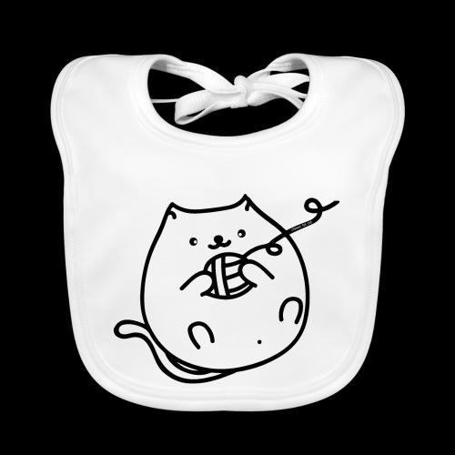 classic fat cat - Baby Bio-Lätzchen