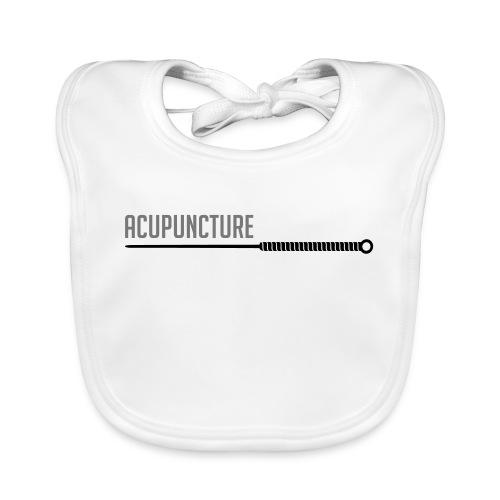 Acupuncture aiguille - Bavoir bio Bébé