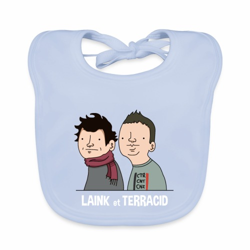 Laink et Terracid - Bavoir bio Bébé