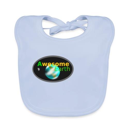 awesome earth - Baby Organic Bib