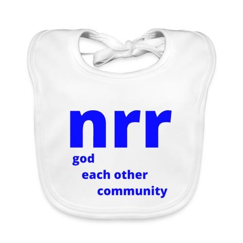 NEARER logo - Organic Baby Bibs