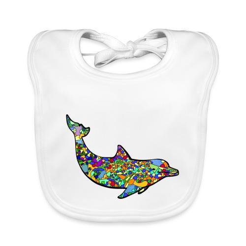 Dolphin - Baby Organic Bib