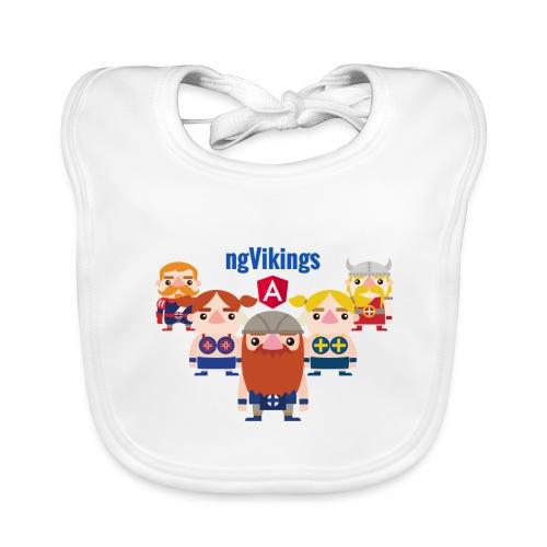 Viking Friends - Organic Baby Bibs