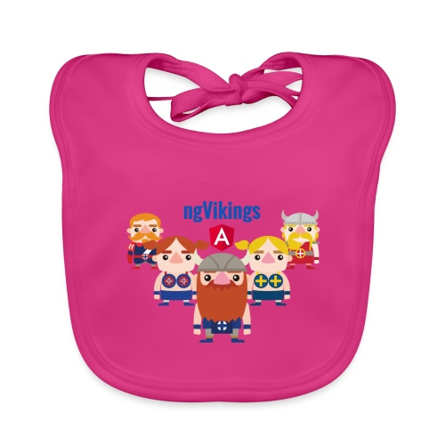Viking Friends - Baby Organic Bib