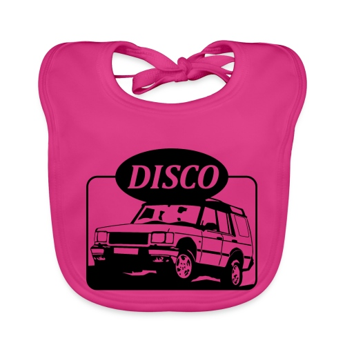 Landie Disco - Autonaut.com - Baby Organic Bib