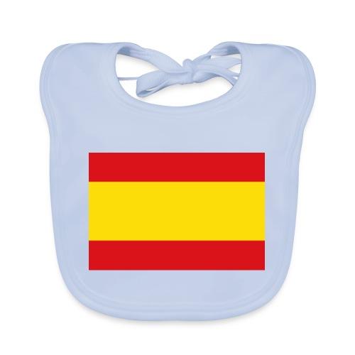 vlag van spanje - Bio-slabbetje voor baby's