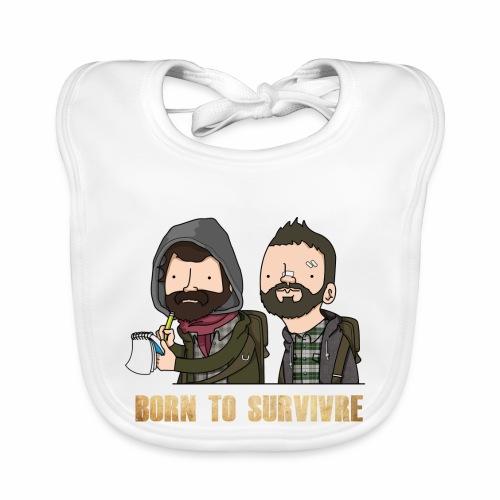Born to Survivre - Bavoir bio Bébé