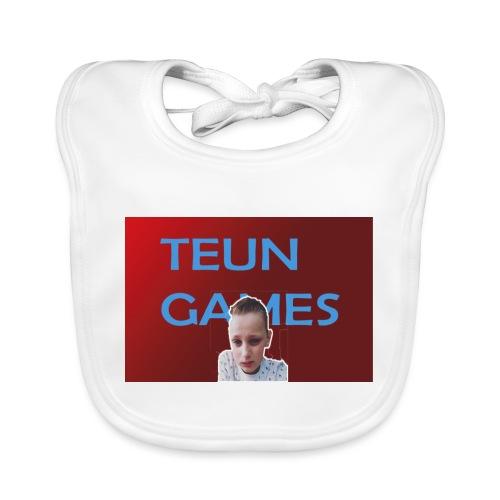 TeunGames foto - Bio-slabbetje voor baby's