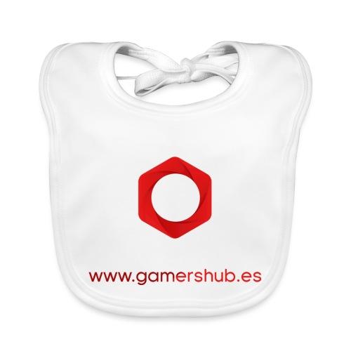 GamersHUB Oficial Promocional - Babero de algodón orgánico para bebés
