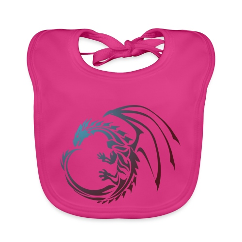 color Dragon - Baby Organic Bib
