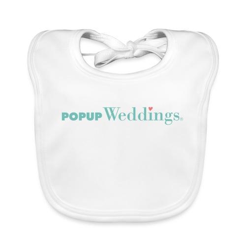Popup Weddings - Organic Baby Bibs