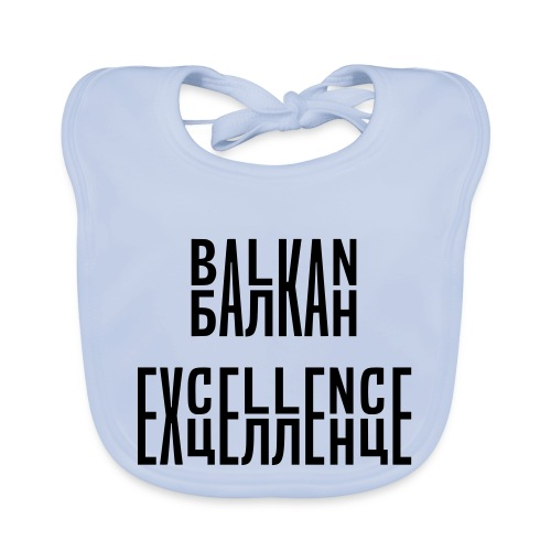 Balkan Excellence vert. - Baby Organic Bib