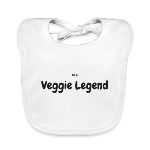 I'm a Veggie Legend - Organic Baby Bibs