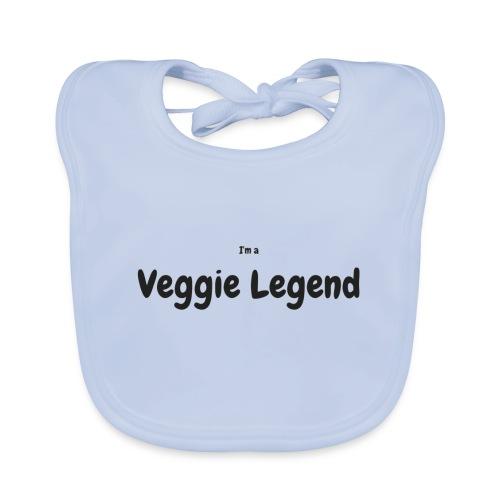 I'm a Veggie Legend - Baby Organic Bib