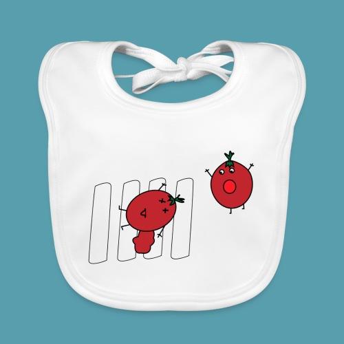 tomaatit - Vauvan luomuruokalappu