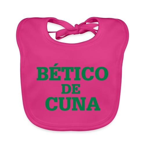 beticodecuna - Babero de algodón orgánico para bebés