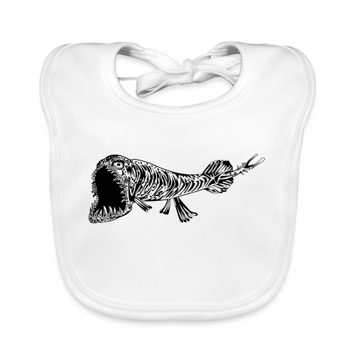 A fish called Grossmaul - Organic Baby Bibs