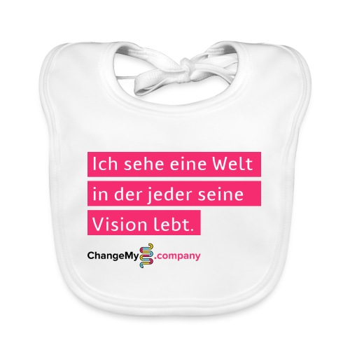 ChangeMy.Company Vision Branding - Baby Bio-Lätzchen