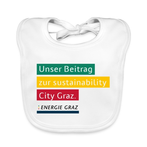 Energie Graz Vision - Baby Bio-Lätzchen
