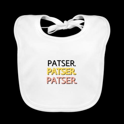 PATSER GOUD - Bio-slabbetje voor baby's