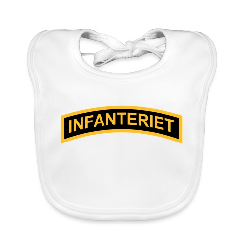 INFANTERIET 2-färg båge - Ekologisk babyhaklapp