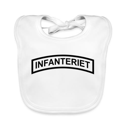 INFANTERIET enfärgad - Ekologisk babyhaklapp