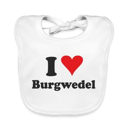 I Love Burgwedel - Baby Bio-Lätzchen