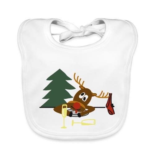 Ugly Christmas Sweater - Bio-slabbetje voor baby's