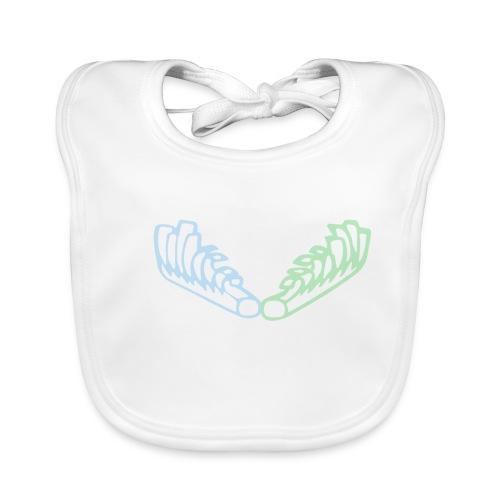Kiehiset Technicolour - Vauvan luomuruokalappu