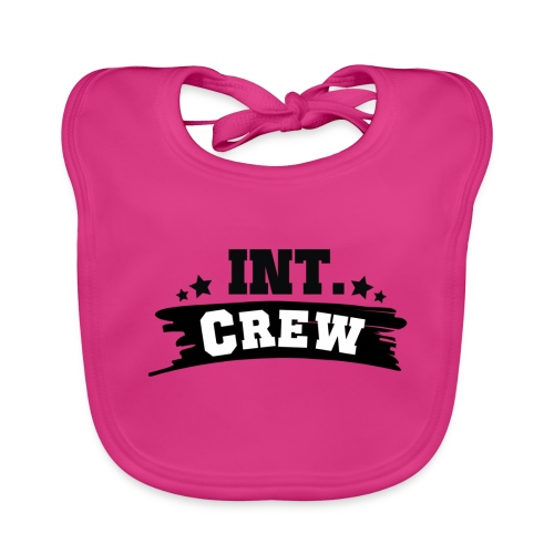International Crew T-Shirt Design by Lattapon - Baby økologisk hagesmæk