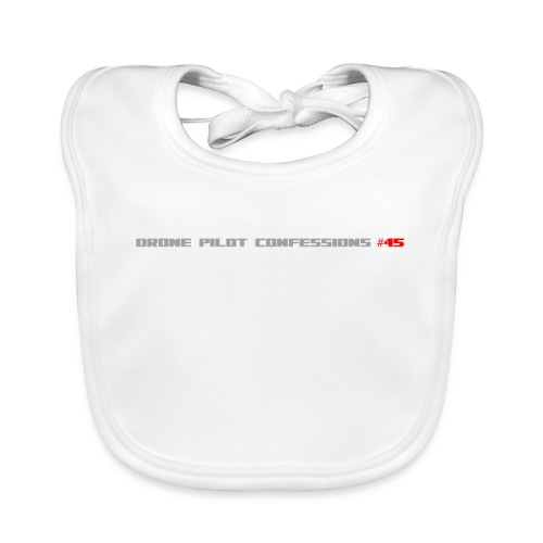 I CRASH A LOT - Baby Organic Bib