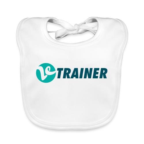 VTRAINER - Babero de algodón orgánico para bebés