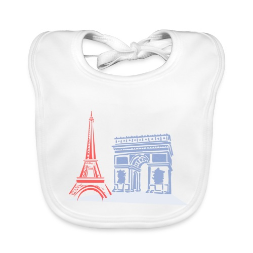 Paris - Bavoir bio Bébé