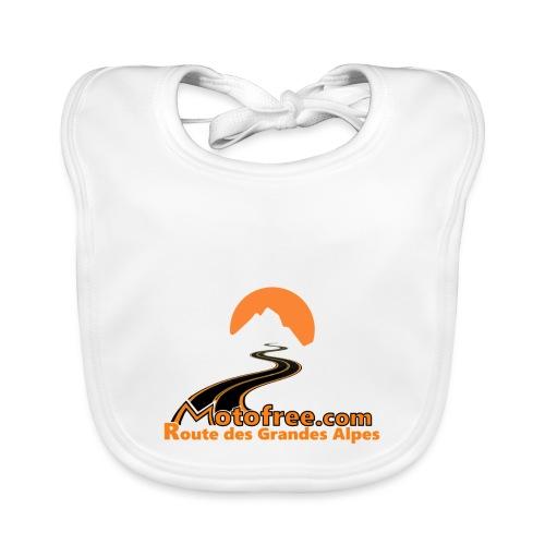 logo motofree orange - Bavoir bio Bébé