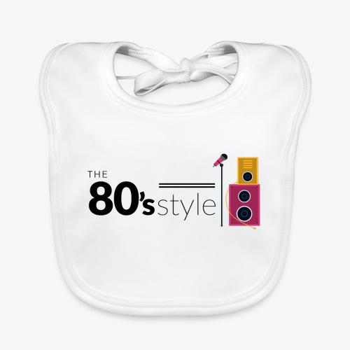 80s - Babero ecológico bebé