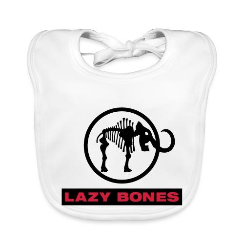 LAZY BONES - Logo - Baby Bio-Lätzchen