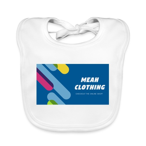 MEAH CLOTHING LOGO - Baby Organic Bib