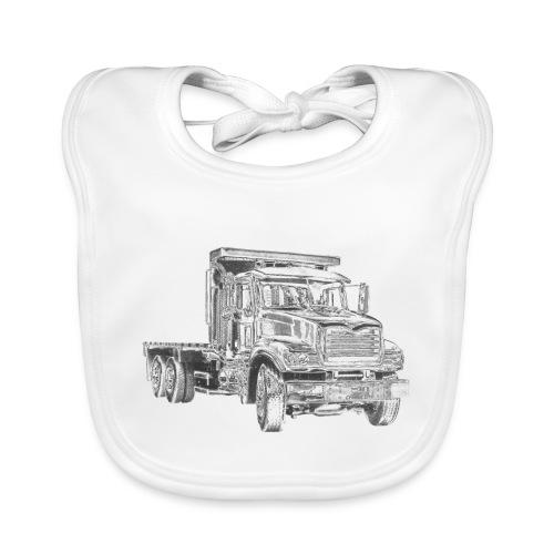 Flatbed Truck 3-axle - Baby Organic Bib