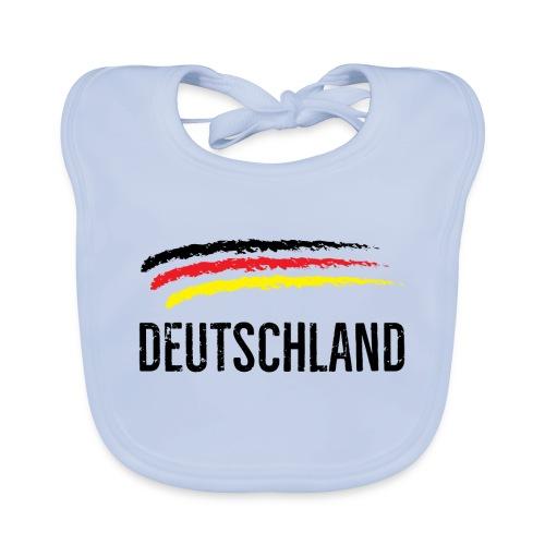 Deutschland, Flag of Germany - Baby Organic Bib