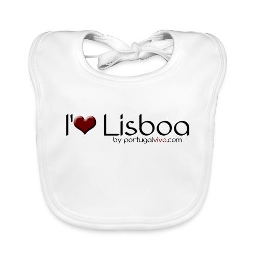 I Love Liboa - Bavoir bio Bébé