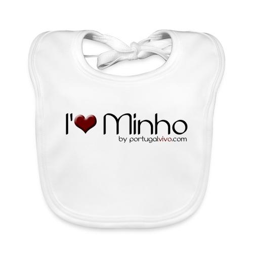 I Love Minho - Bavoir bio Bébé