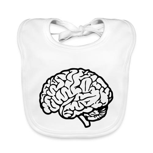 cerveau - Bavoir bio Bébé
