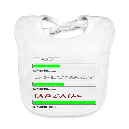 Tact and Diplomacy - Baby Organic Bib